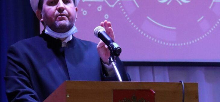 """31 марта 2021 года в Княгининском университете состоялась публичная лекция по теме """"Ислам учит уважать представителей других религий и национальностей""""."""